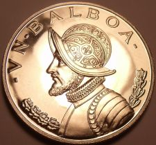 Buy Rare Silver Proof Panama 1968 Balboa~23,210 Minted~Fantastic~Free Shipping