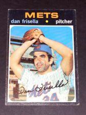 Buy VINTAGE DAN FRISELLA METS 1971 TOPPS #104 PR-GD