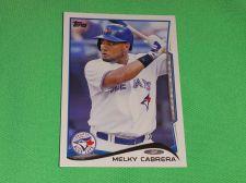 Buy MLB Melky Cabrera Blue Jays 2014 Topps Baseball GD-VG