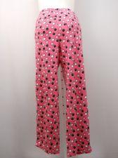Buy SIZE 20 Womens Pajama Bottoms Polka Dots MICRO FLEECE Sleepwear Straight Legs