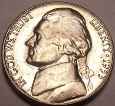 Buy United States Unc 1953-D Jefferson Nickel~Excellent~Free Shipping