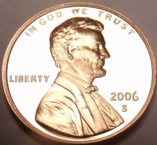 Buy United States Proof 2006-S Lincoln Memorial Cent~Free Shipping~We Have Proofs~
