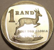 Buy Rare Proof South Africa 1993 Rand~Springbok~Only 7,790 Minted~Free Shipping
