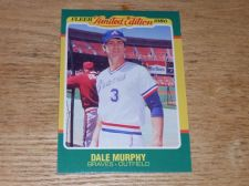 Buy VINTAGE Dale Murphy Atlanta Braves 1986 FLLER LIMITED EDITION GLOSSY NMNT