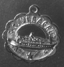 Buy Vintage Silver Charm : S.S. Veracruz Cruise Ship Travel Souvenir