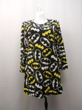 Buy Batman Women's Sleep Shirt Size L 12-14 Micro Fleece Long Sleeves Pullover