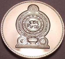Buy Rare Proof Sri Lanka 1978 25 Cents~Only 20,000 Minted~Fantastic~Free Shipping