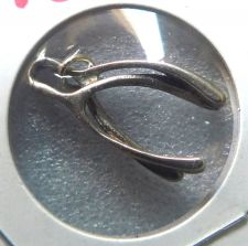 Buy DOUBLE GOOD LUCK & WISHES w/ THIS STERLING DOUBLE WISHBONE CHARM or PENDANT