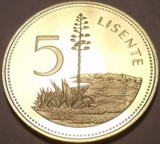 Buy Rare Proof Lesotho 1979 5 Licente~10k Minted~Pine Among Hills~Free Shipping