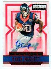 Buy NFL 2012 PANINI GRIDIRON DAVIN MEGGETT AUTO RC /499 MNT