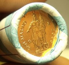 Buy Gem Unc Original Roll (20) San Marino 2006 2 Euro Cents Coins~CV $160~Free Ship