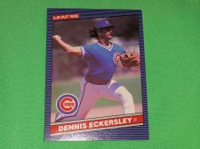 Buy RETRO Dennis Eckersley Chicago Cubs 1986 Leaf Baseball GD-VG
