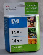 Buy 14 HP BLACK 2 cartridges C9330FN ink OfficeJet 7140 7130 7110 d155 d145 printer