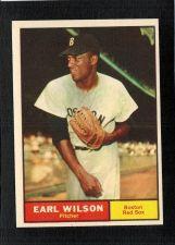 Buy VINTAGE 1961 Topps # 69 Earl Wilson Boston Red Sox NM/MT