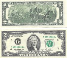 Buy United States 2013-F Atlanta Uncirculated $2.00 Bicentennial Notes~Free Shipping