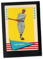 Buy VINTAGE 1961 Fleer Baseball Greats # 86 Zack Wheat VG+