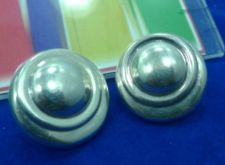 Buy clip EARRINGS: sterling 925 silver vintage vtg signed ALE [the Pandora Company]