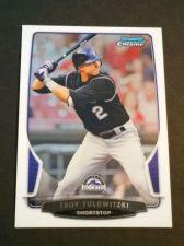 Buy MLB TROY TULOWISKI ROCKIES SUPERSTAR 2013 BOWMAN CHROME #36 MNT
