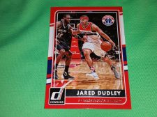 Buy NBA JARED DUDLEY WIZARDS SUPERSTAR 2015 PANINI BASKETBALL GEM MNT