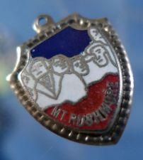 Buy MT RUSHMORE : ENAMEL VACATION TRAVEL SOUVENIR CHARM : silver