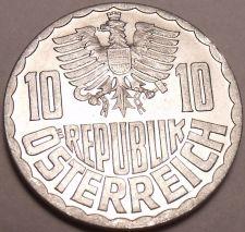 Buy Gem Unc Austria 1955 10 Groschen~Minted In Vienna~We Have Old Unc Coins~Free Shi