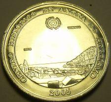 Buy Gem Unc Silver Portugal 2005 5 Euros~300,000 Minted~Angra Do Heroismo~Free Ship