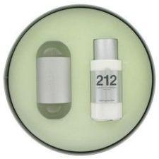 Buy 212 by Carolina Herrera Gift Set -- 3.4 oz Eau De Toilette Spray + 3.4 oz Body Lotion