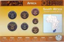 Buy South Africa Rand Coin Set - 7 Coins