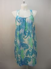Buy SIZE XL Womens Chemise SECRET TREASURES Paisley Turquoise Lace Trim Straps