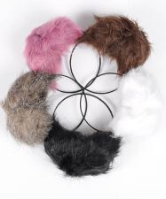 Buy Madison Avenue Winter Fashion Fuzzy Faux Fur Warm Ear Muffs Assorted Colors NWT