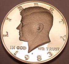 Buy United States Proof 1983-S John F. Kennedy Half Dollar~Free Shipping