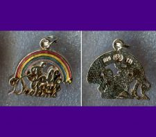 Buy STERLING & ENAMEL INSPIRATIONAL RAINBOW CHARM : FOLLOW YOUR DREAMS