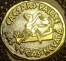 Buy Massive Caesar And Cleopatra Gold Colored Medallion~Big Berta Prize~Free Ship