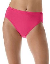 Buy Hanes 3-Pack Hi-Cuts Tagless Wide Waistband Pre-Shrunk Panties Plus Size 9