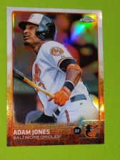 Buy MLB ADAM JONES ORIOLES 2015 TOPPS CHROME REFRACTOR GEM MNT