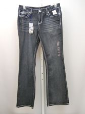 Buy Rhythm in Blues Women's Jeans Size 10 Boot Cut Low Front Rise Medium Wash 34X33