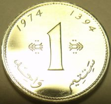 Buy Rare Proof Morocco 1974 F.A.O Santim~20,000 Minted~Only Year Ever~Free Shipping