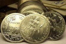 Buy Gem Unc Roll (50) French Polynesia 2003 1 Franc~Minted In Paris~Cornucopia~Fr/Sh
