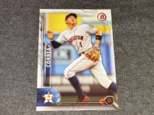 Buy MLB CARLOS CORREA ASTROS SUPERSTAR 2016 BOWMAN BASEBALL GEM MNT