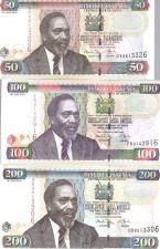 Buy Kenya Banknote Set 50-1000 Shillings
