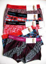 Buy A0350 Calvin Klein NEW Men's Contour Pouch Knit Square Cut Trunk Matrix U5814H M L