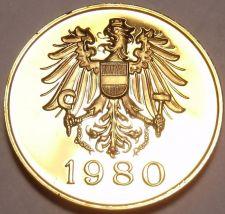 Buy AUSTRIA 1980 PROOF SET MEDALLION~EXCELLENT~FREE SHIP~