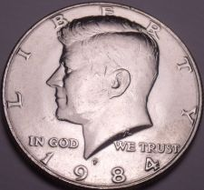 Buy United States Unc 1984-P Kennedy Half Dollar~Free Shipping