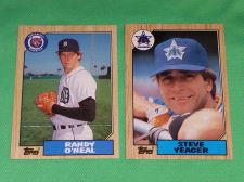 Buy VINTAGE 1987 TOPPS BASEBALL CARD LOT #4 GD-VG