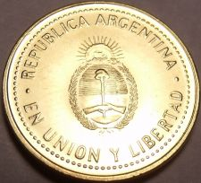 Buy Gem Unc Argentina 2011 10 Centavos~We Have Gem Unc Coins From South America~F/S