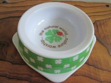 Buy GREEN CLOVER IRISH SHAMROCK Canine Food Puppy Cat Bowl Melamine,St.Patrick's Day