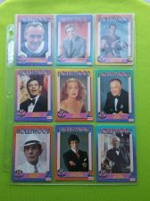 Buy VINTAGE LOT OF 9 1991 STARLINE HOLLYWOOD SUPERSTAR COLLECTORS CARDS LOT #8 GD-VG