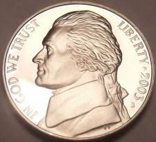 Buy DEEP MIRROR 2003-S PROOF JEFFERSON~WOW~NICE~FREE SHIP~