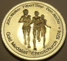 Buy Large Gem Unc Walker-JIpcho-Bayi~1500 Meters Race Gold Medalist Medallion~Fr/Shi