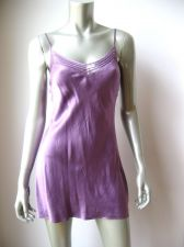 Buy Victoria's Secret NEW Lilac Pure Silk Sheer Mesh Cup Line Pullover Chemise XS PR